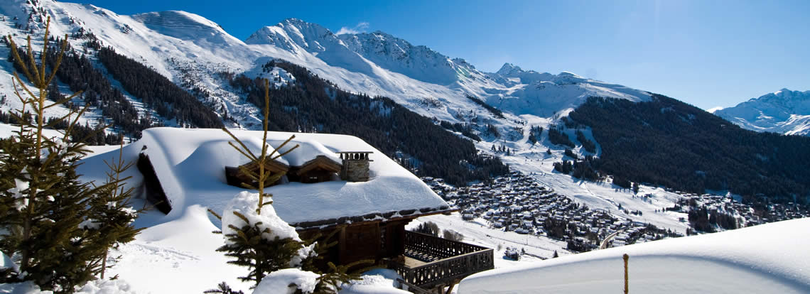 Verbier Ski Resort Switzerland