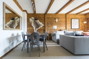Central Verbier apartment sleeps 6