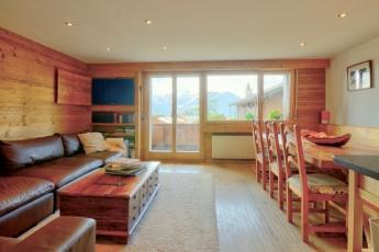 Verbier three bedroom apartment in the centre