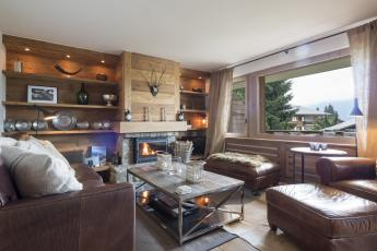 Verbier centre-appartement luxe 2 chambres-location ski