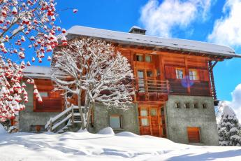 new 3 bedroom Verbier apartment with garden
