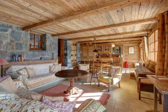 Verbier traditional two bedroom chalet apartment
